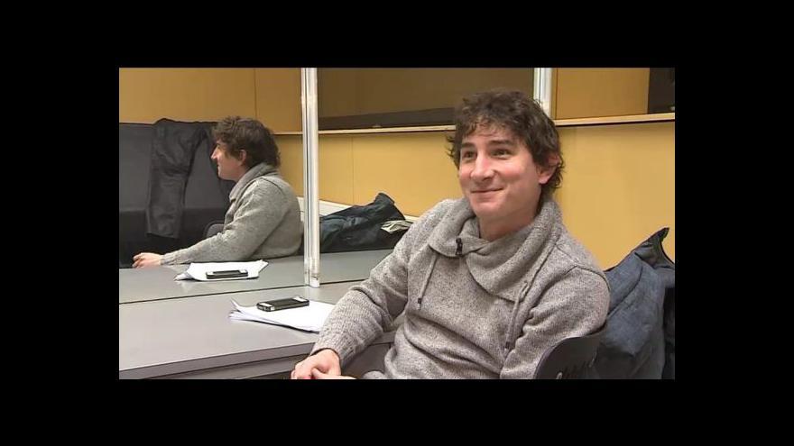 Video Moderátor Jan Adámek o Zlatém oříšku