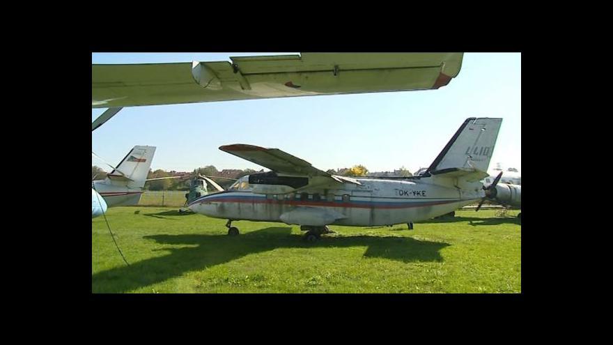 Video Letecké muzeum v novém