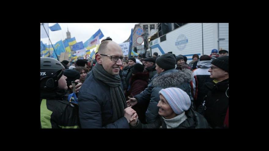 Video Josef Pazderka o demonstraci v Kyjevě