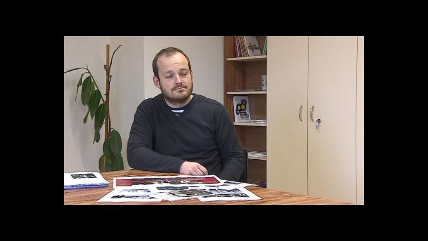 Video Ředitel městského kulturního centra Michal Blažíček o připravované knize