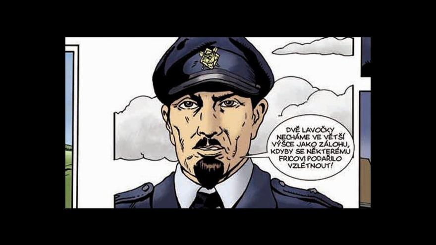 Video Generál Fajtl se stal komiksovým hrdinou vlastní knihy