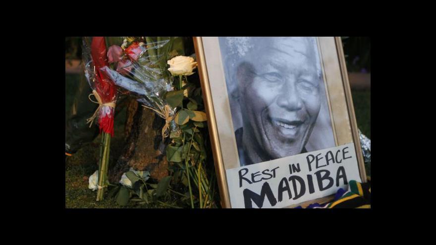 Video JAR se připravuje na pohřeb Mandely