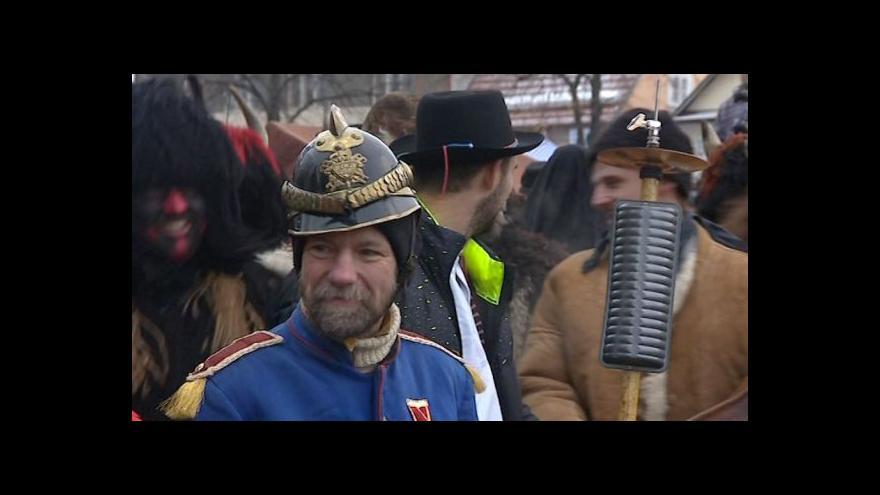 """Video Mikulášský """"jarmek"""" je ve Valašských Kloboukách pestrý"""