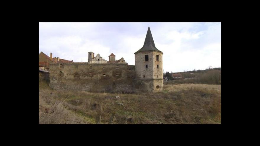 Video Blanka Poulová o záchraně zámku Červená Řečice
