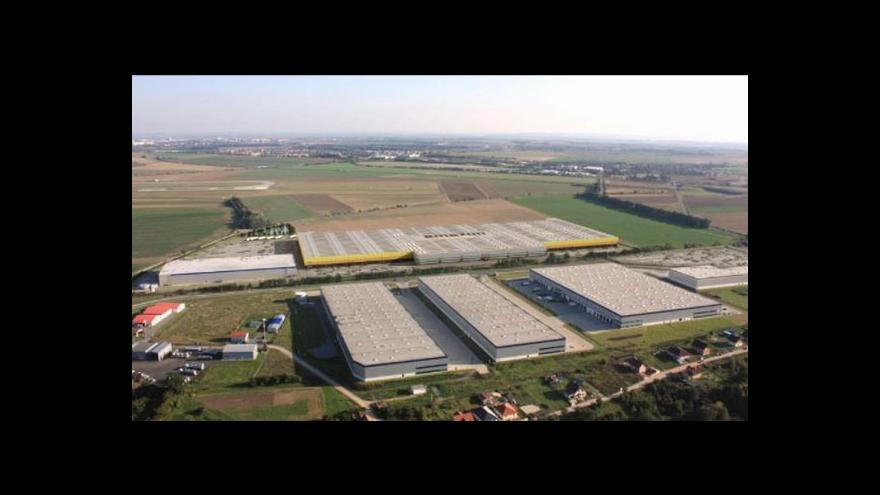 Video Události o výstavbě Amazonu v Česku