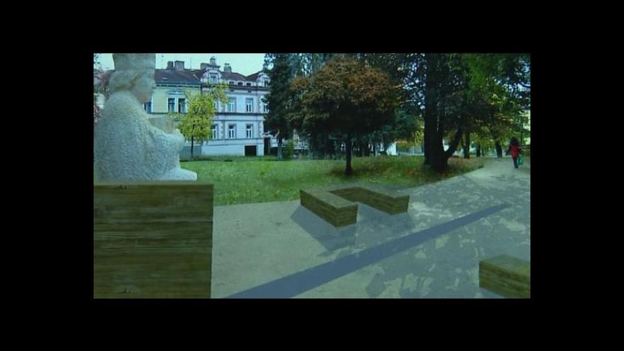 Video Kristina Vrkočová o revitalizaci píseckých parků