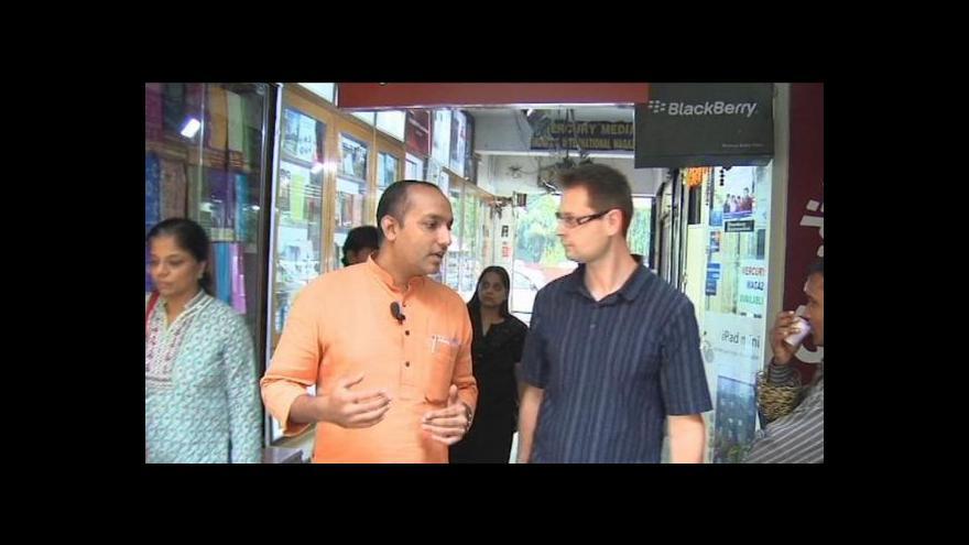 Video Reportáž Jakuba Nettla o indické střední třídě