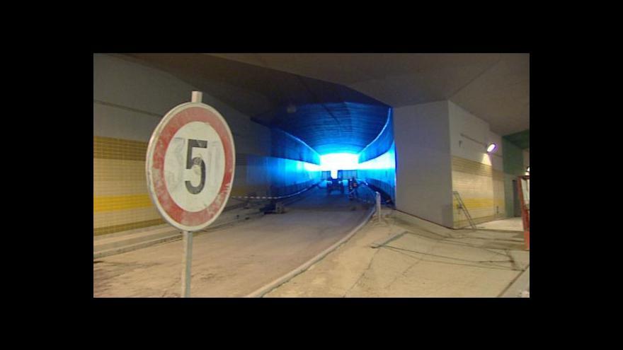 Video Tereza Schejbalová o tunelu Blanka