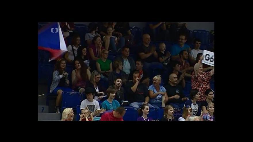 Video Florbalistky doufají, že na brněnském šampionátu bude vyprodáno