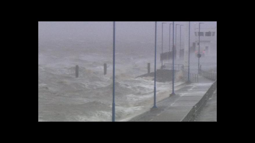 Video Evropu ničí orkán Xaver