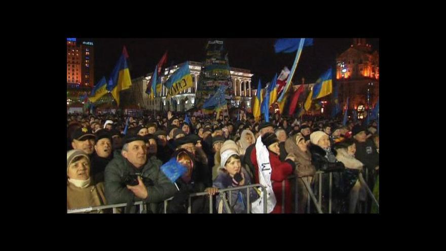 Video Ministři zahraničí jednali s ukrajinskou opozicí