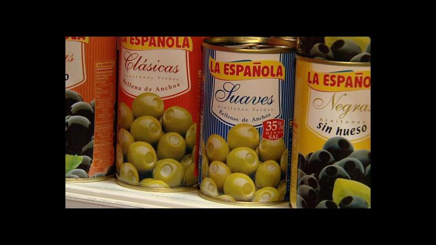 Video Kurz koruny vůči euru prodraží i zahraniční speciality