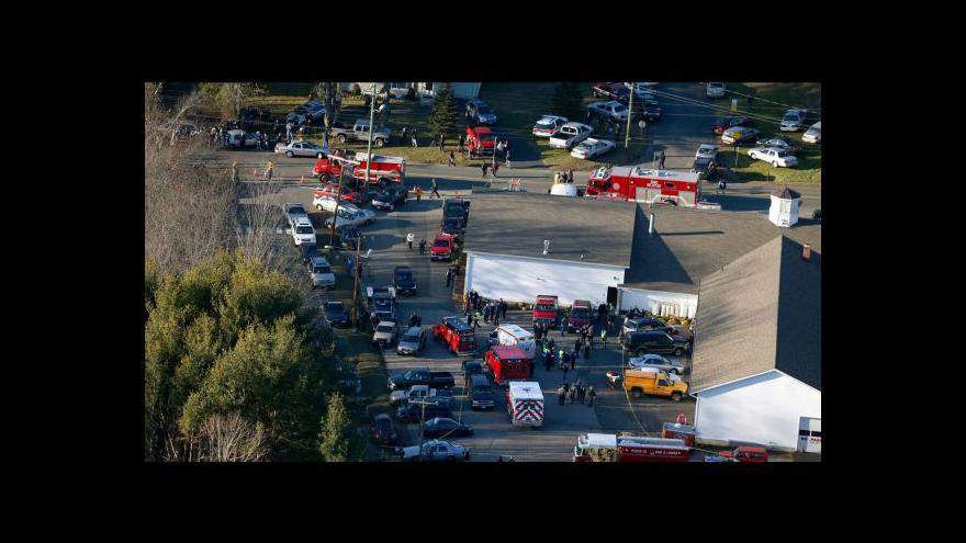 Video Horizont ČT24: V USA zveřejnili přepisy zoufalých telefonátů z Newtownu