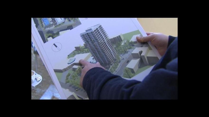 Video Jan Stuchlík o problémech teplického mrakodrapu