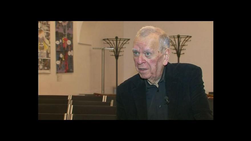 Video Milan Uhde o nové knize pamětí