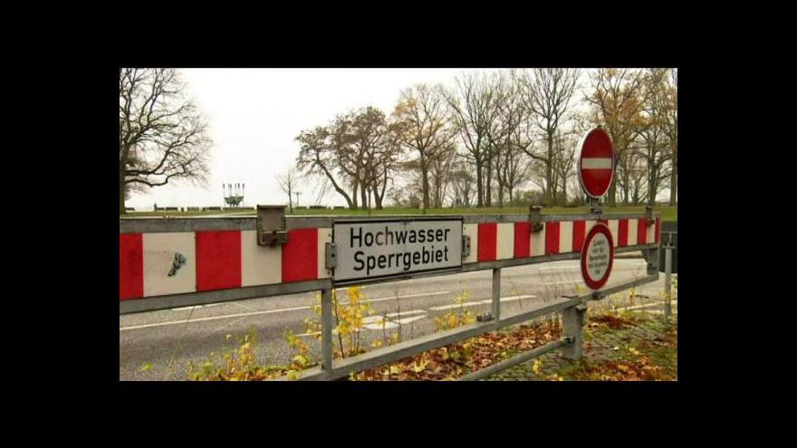 Video Orkán Xaver pustoší severozápad Evropy