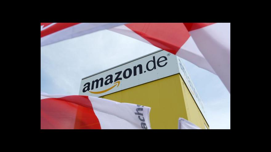 Video Plány Amazonu tématem Ekonomiky ČT24