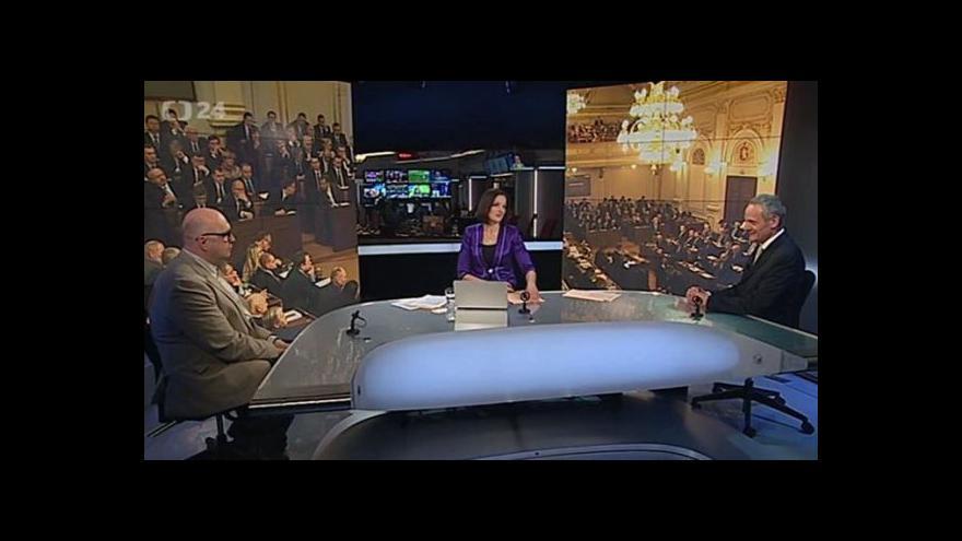 Video Komentáře před schůzkou předsedy ČSSD na Hradě