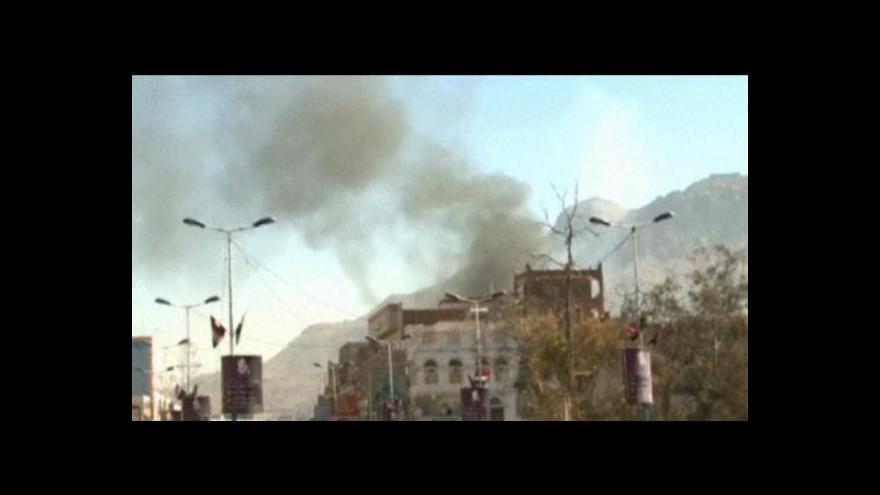Video Útok na ministerstvo obrany v Jemenu
