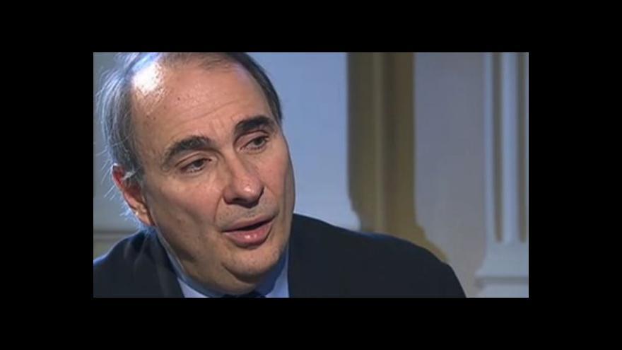 Video Rozhovor s bývalým Obamovým poradcem Davidem Axelrodem