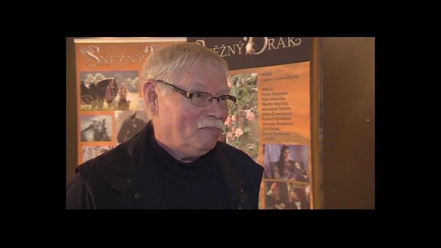 Video Režisér Eugen Sokolovský ml. o pohádce Sněžný drak