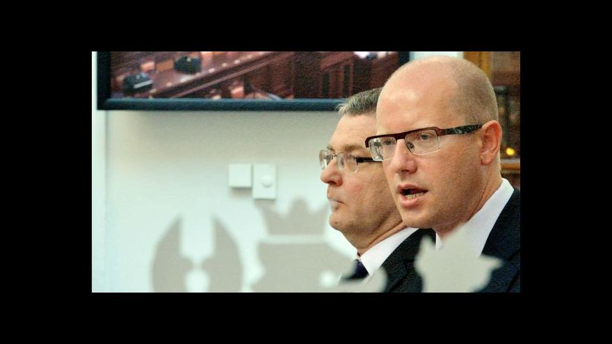 Video Zeman odmítá jmenovat Zaorálka ministrem (reportáž)