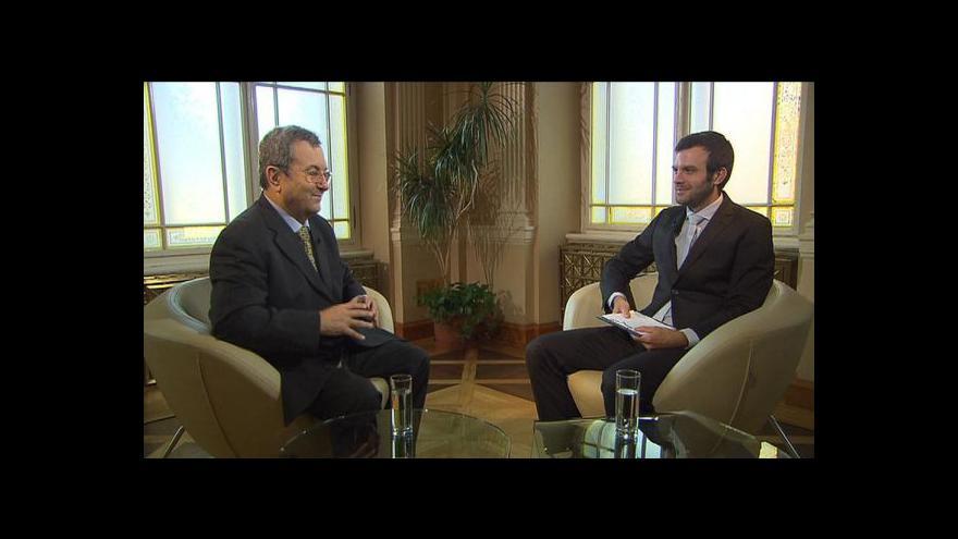 Video Rozhovor s izraelským expremiérem Ehudem Barakem