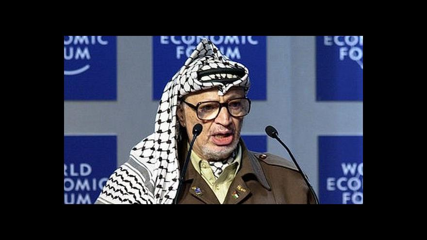 Video Jakub Szántó o Arafatovi