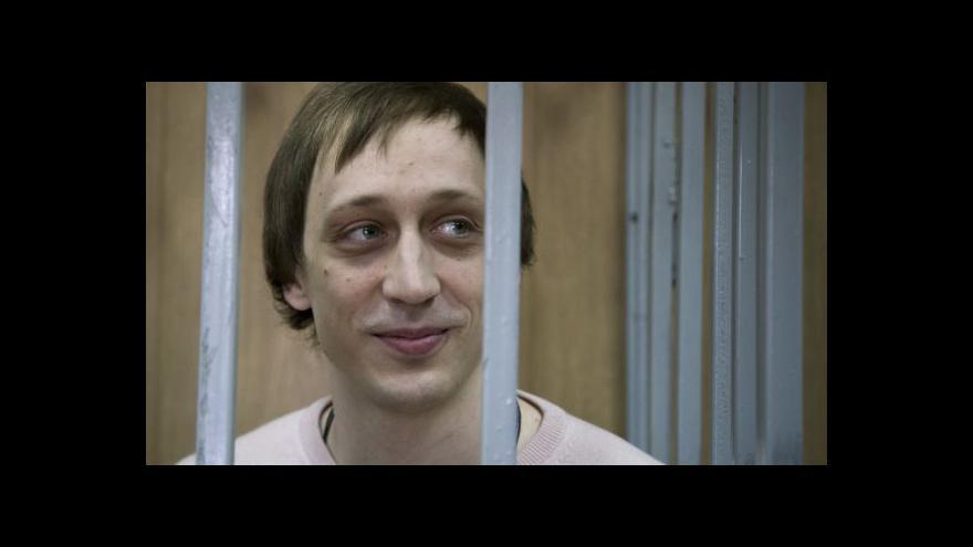 Video Moskevský soud poslal za mříže baletního sólistu