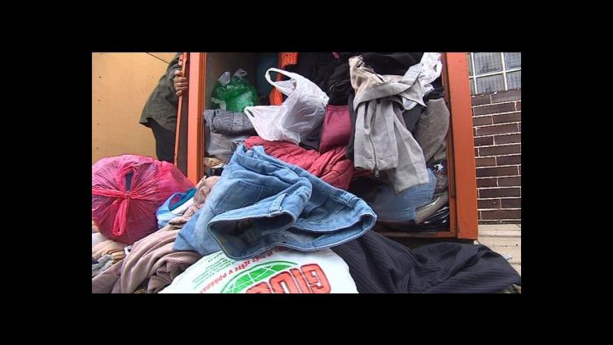 Video Sbírka oblečení pro bezdomovce tématem Studia 6