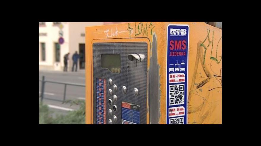 Video Telefonát mluvčí DPMB Lindy Hailichové k SMS jízdenkám