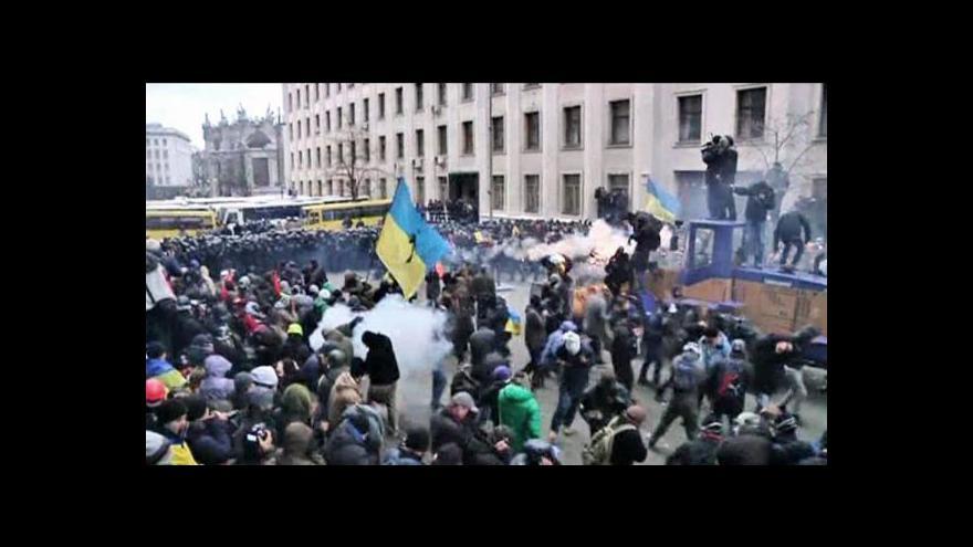 Video Reportáž Veroniky Pitrové o událostech na Ukrajině