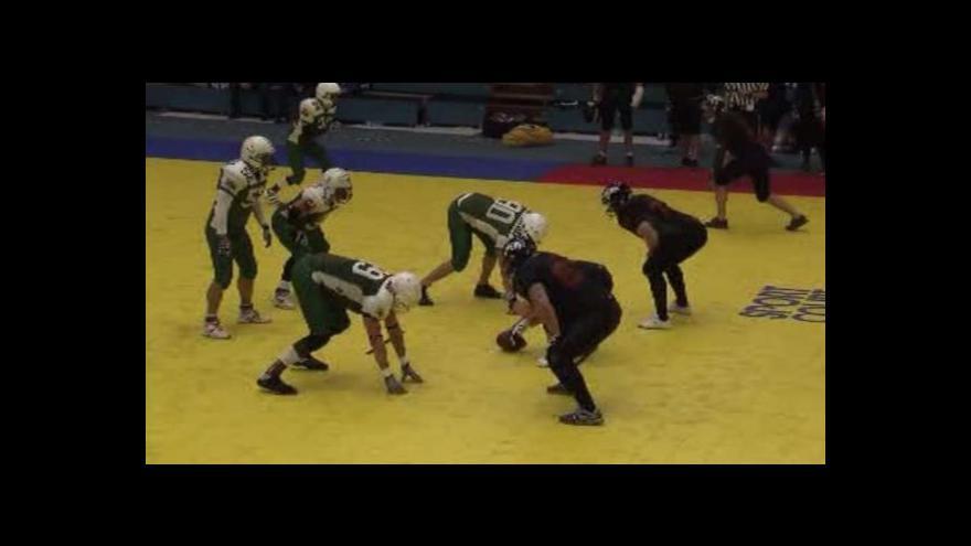 Video Pražští Young Guns jsou počtvrté halovými mistry v americkém fotbale