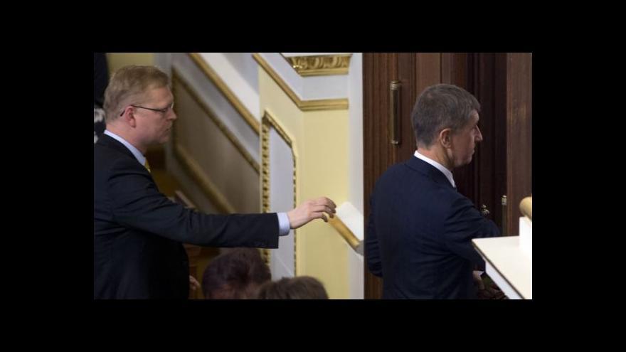 Video Zůstanou lidovci před dveřmi koalice?