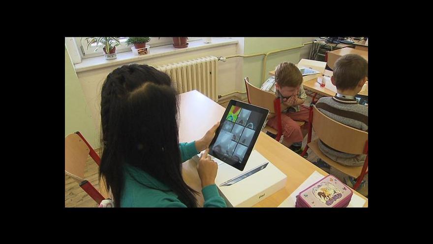 Video Tablety ve školách si chválí žáci i učitelé