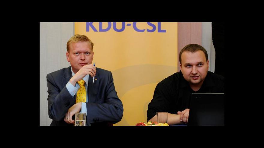 Video Bělobrádek nevyloučil odchod z koaličního jednání