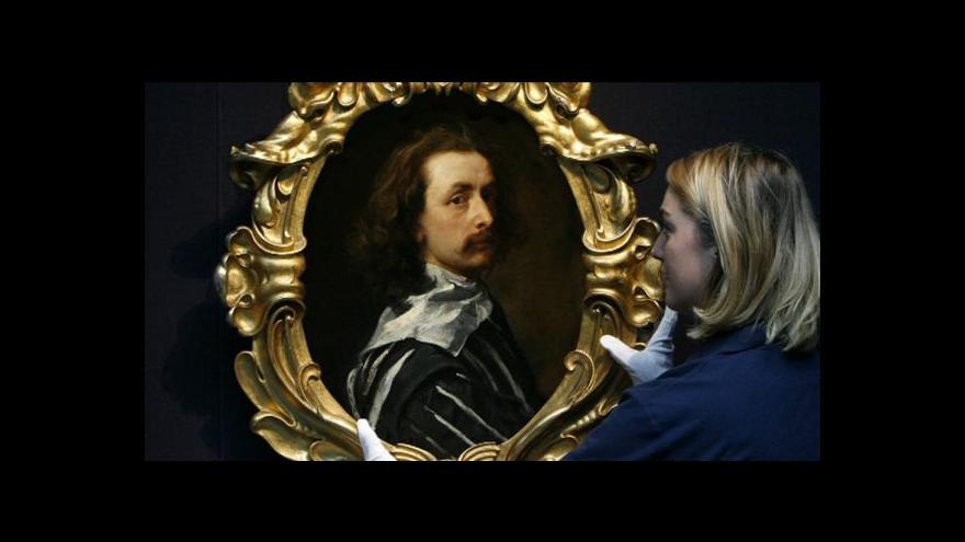 Video Britové se skládají na autoportrét Van Dycka