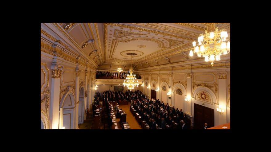 Video První návrhy zákonů v nové sněmovně jsou protikorupční