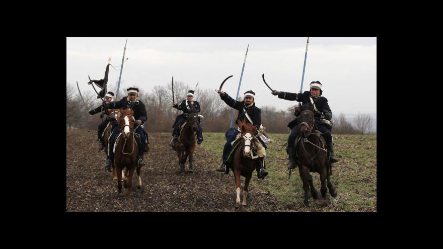 Video No comment: Rekonstrukce bitvy u Slavkova