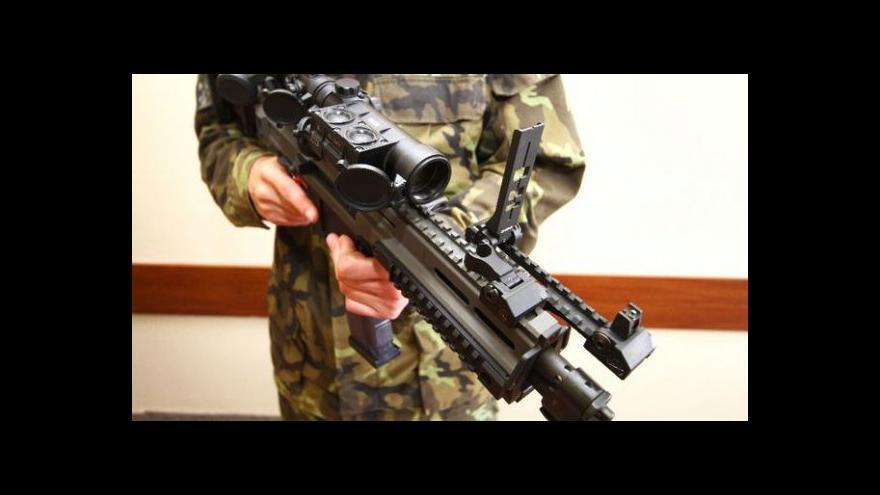 Video Telefonát Milana Brunclíka k nákupu bojových pušek Bren