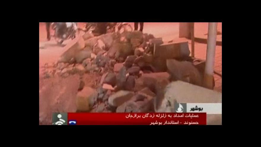 Video V Íránu se otřásla země