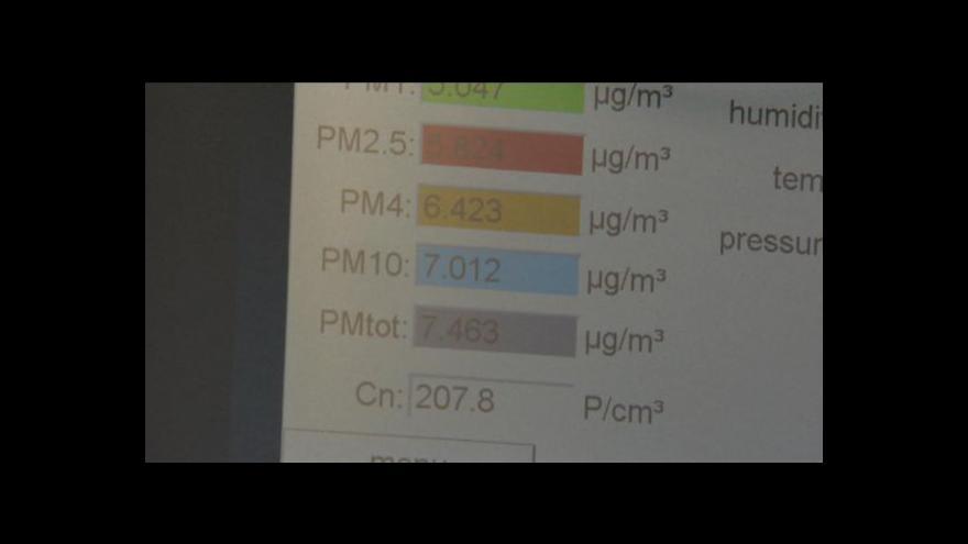 Video Radovan Daněk o měření kvality ovzduší