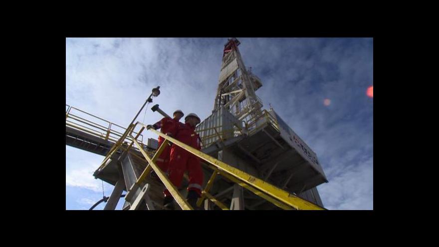 Video Reportáž Josefa Pazderky o břidlicovém plynu
