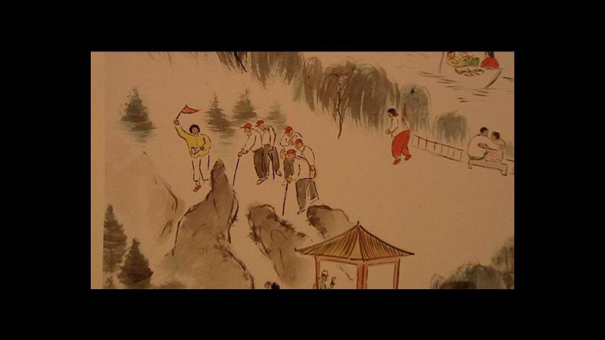 Video Wu-Yi vystavuje v Galerii Václava Špály
