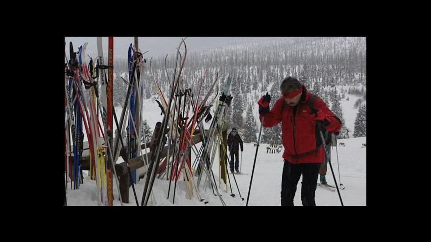 Video Zdeněk Mlnařík o zimní sezoně na Šumavě