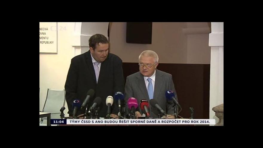 Video Faltýnek a Sobotka k poslaneckému mandátu