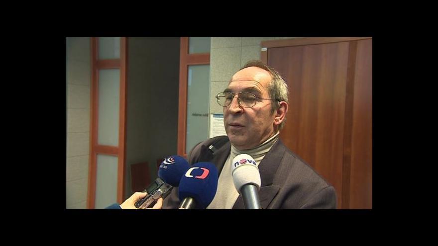 Video Soudní znalec Miloš Štěrba hovoří o dnešním procesu