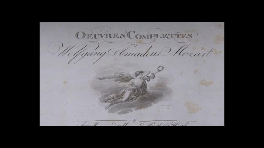 Video Kurátorka Simona Šindlářová popisuje výstavu Musica Magnis
