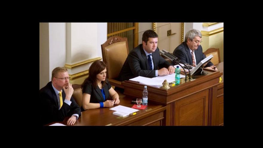 Video Noví místopředsedové PS po svém zvolení