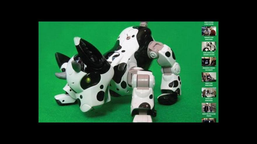 Video Festival robotiky tématem Studia 6
